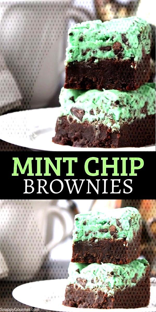 EASY MINT CHIP BROWNIES RECIPE EASY MINT CHIP BROWNIES RECIPE,