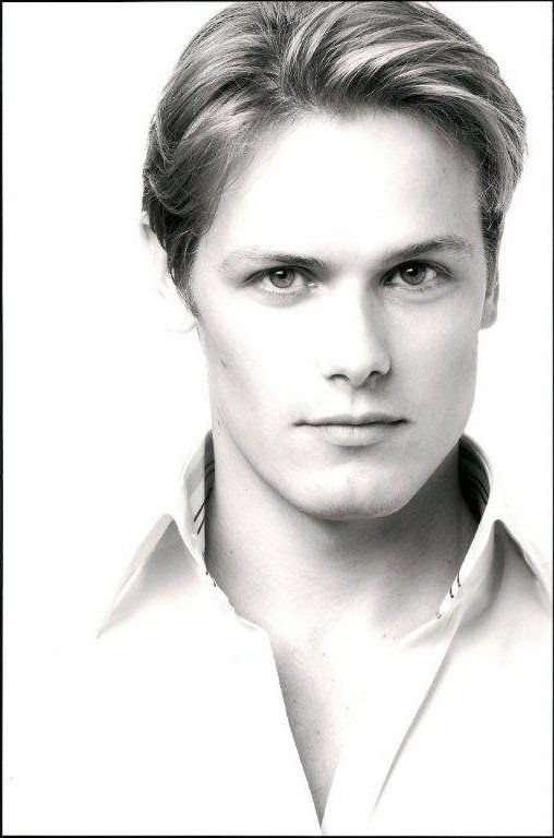 Sam Heughan. Apparently set to be Jamie Fraser in the Outlander series on Starz. Prepare to become worshipped Sam :)