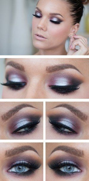 Machiaj Ochi Albastri 7 Blue Eyes Make Up Maquillaje De Ojos
