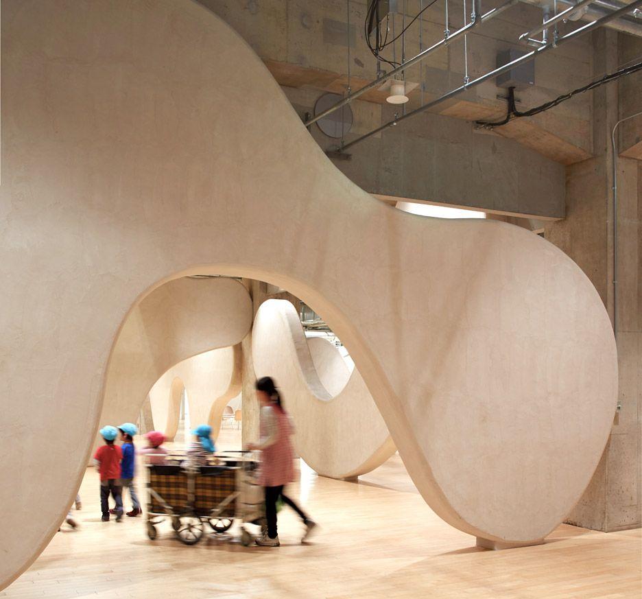 Junya Ishigami creates nursery with cloud-shaped walls | Garden ...