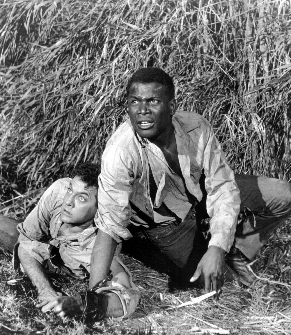 Fifties | Tony Curtis and Sidney Poitier in The Defiant Ones, 1958