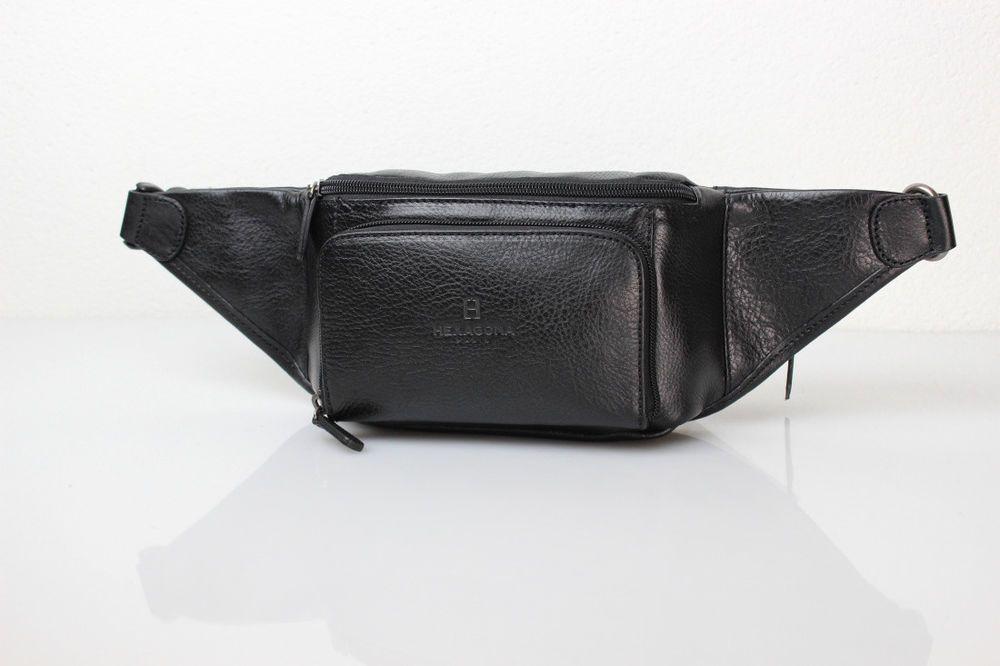 suche nach authentisch niedriger Preis ungeschlagen x Edle Premium Leder Gürteltasche von Hexagona Paris für Damen ...