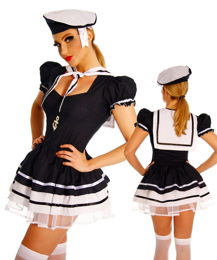 Marine kleid karneval
