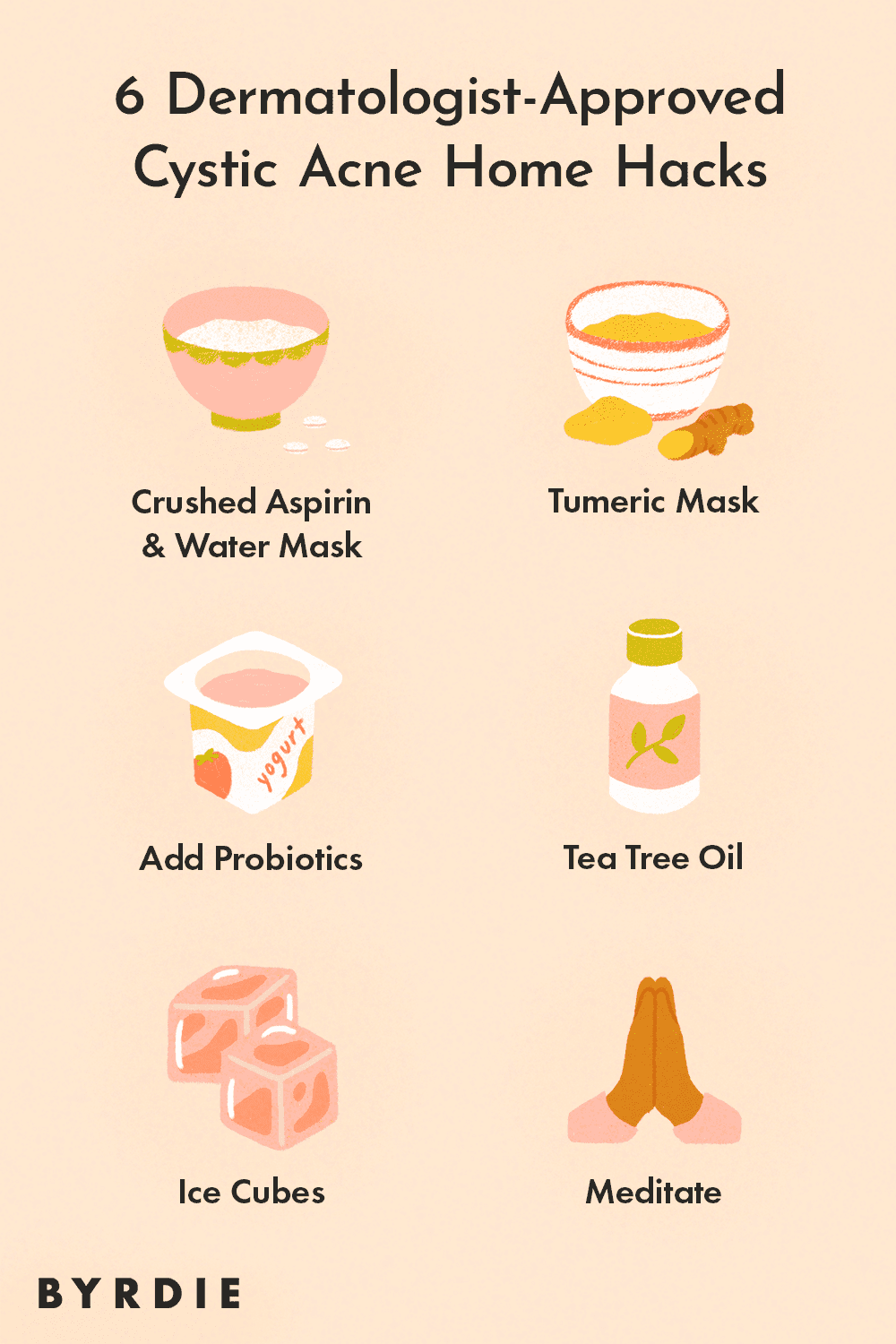 11 Cystic Acne Home Remedies That Are Esthetician And