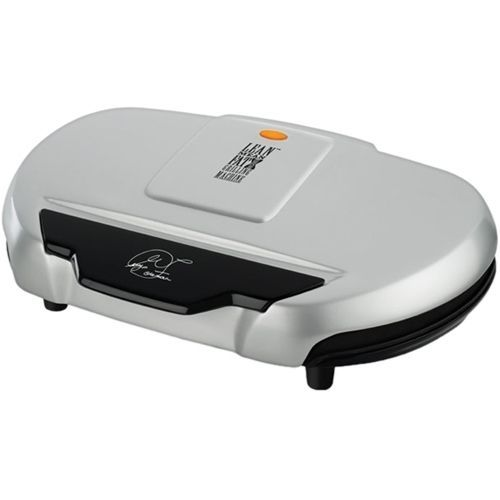"""George Foreman - Grand Champ Indoor 20.8"""" Electric Grill133 Sq. inch. Cooking Surface - Silver, GR144"""