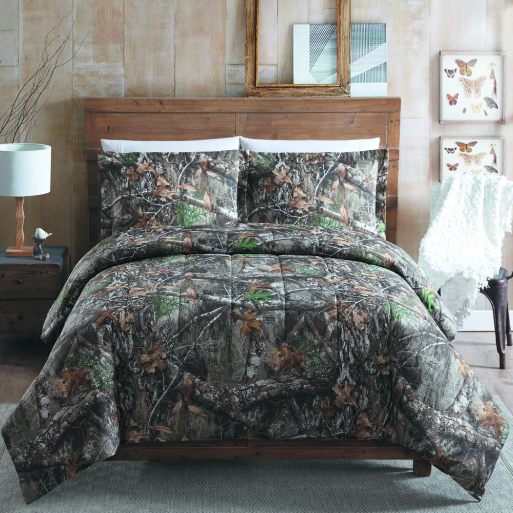Realtree Edge Camo Comforter Set in 2020 Comforter sets