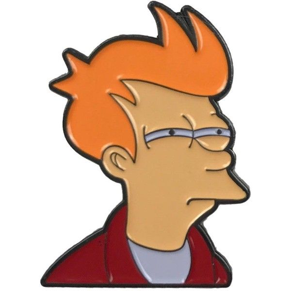 Futurama Meme Enamel Pin Flair 79 NOK Liked On Polyvore Featuring Jewelry Brooches Brooch And