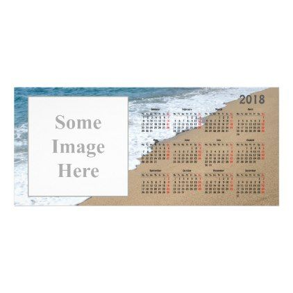 Create your own 2018 calendar magnetic card - how to create your own calendar