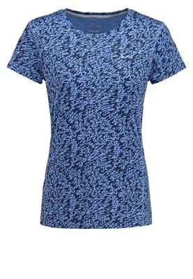 Nike Performance CAMISETA MANGA CURTA MILER - Treningsskjorter - chalk blue/reflective silver - Zalando.no 263,-