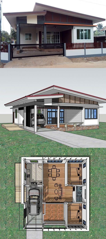 One Storey Modern House Design 2021 - ludicrousinlondon.com