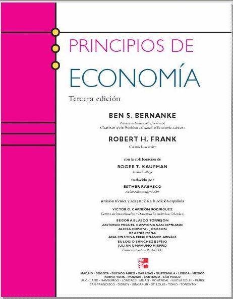 Bernanke ben s frank robert h principios de economia 3 edicin bernanke ben s frank robert h principios de economia 3 edicin fandeluxe Image collections