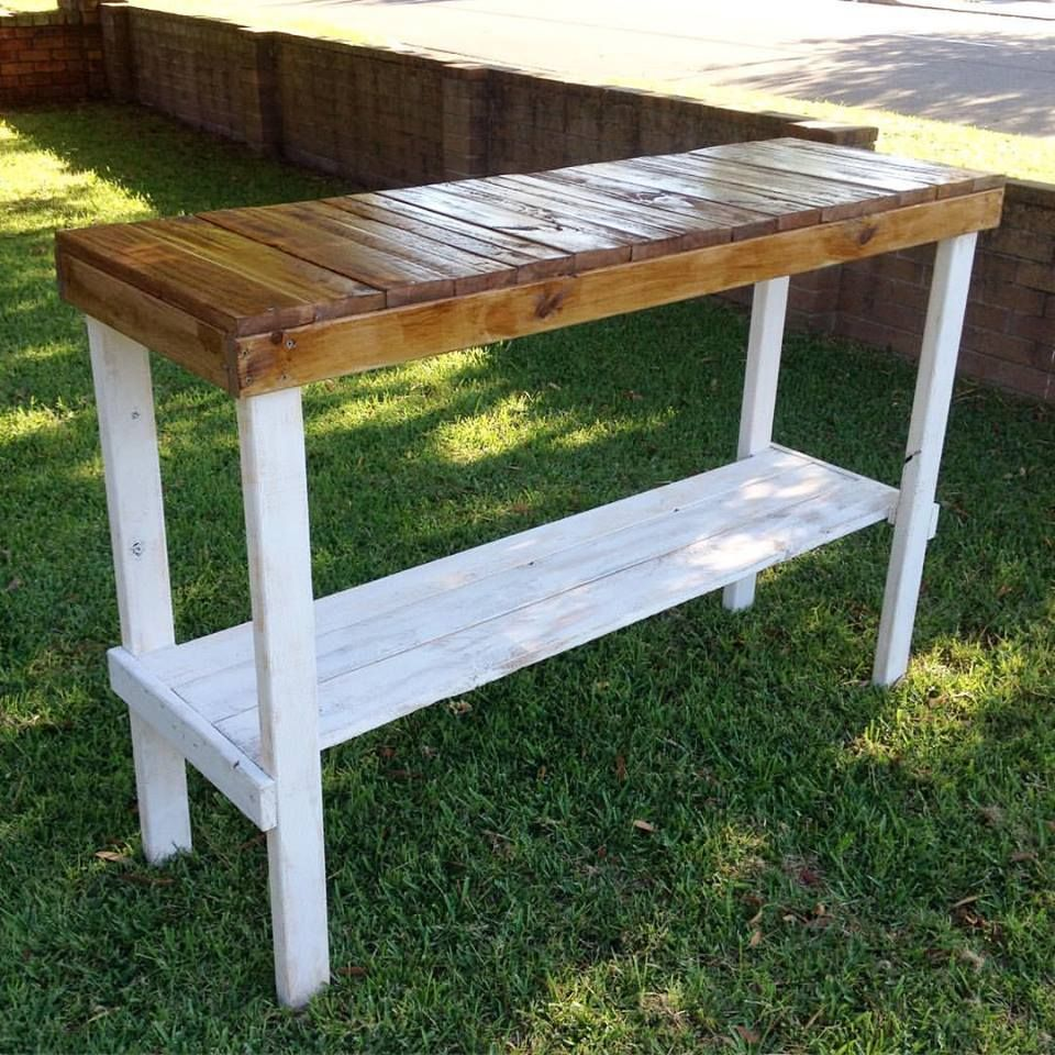 Pallet Entry Hallway Foyer Table - 150 Wonderful