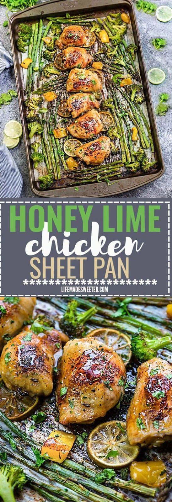 HONEY LIME CHICKEN SHEET PAN WITH ASPARAGUS - Cooking Daily #honeylimechicken HONEY LIME CHICKEN SHEET PAN WITH ASPARAGUS - Cooking Daily #honeylimechicken