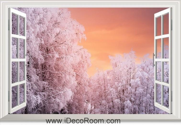SUMMER SUNFLOWER FIELD  3D Window View Canvas Wall Art Picture W538 MATAGA