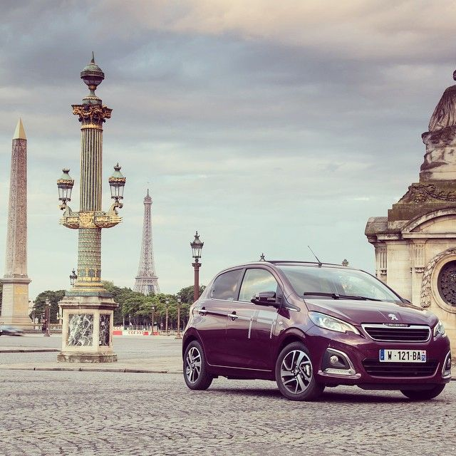 The Peugeot 108 Kilt In Paris Discover All The Others