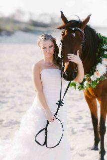 Beach Bridal Shoot Photos Style Me Pretty Beach Bridal Bridal Shoot Wedding Pets