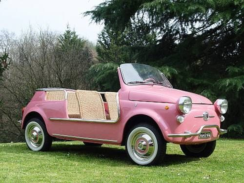 Fiat 500 Jolly Beach Car By Ghia 1959 With Images Beach Cars