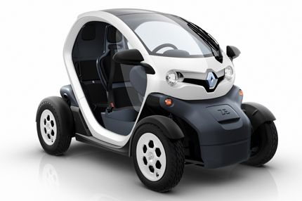 Twizy By Renault Mini Cars Small Electric Cars Electric Car