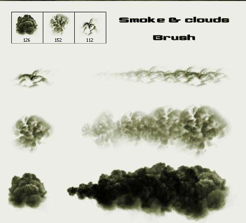 200 Free and High Quality Smoke Brushes For Photoshop