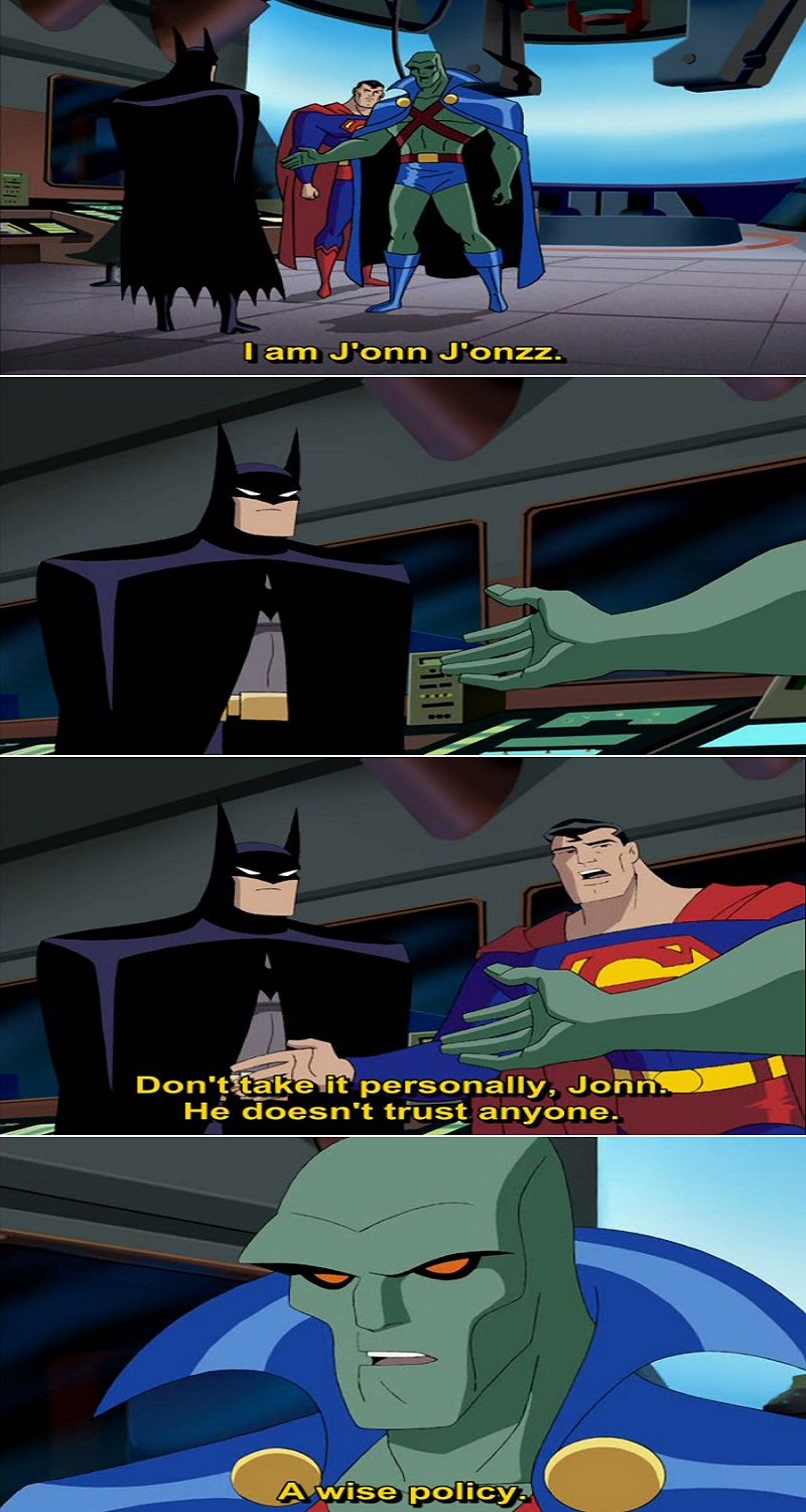 Justice League Animated Series 2001 2006 Quotes Vol 1