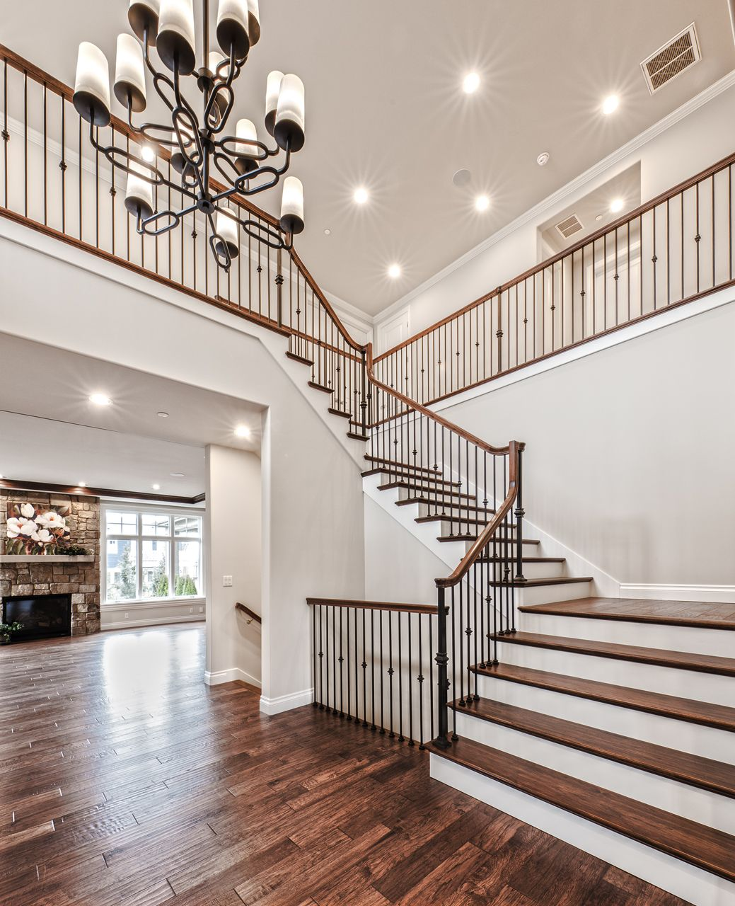 Best This Gorgeous Interior Displays A Lavish Staircase With 400 x 300