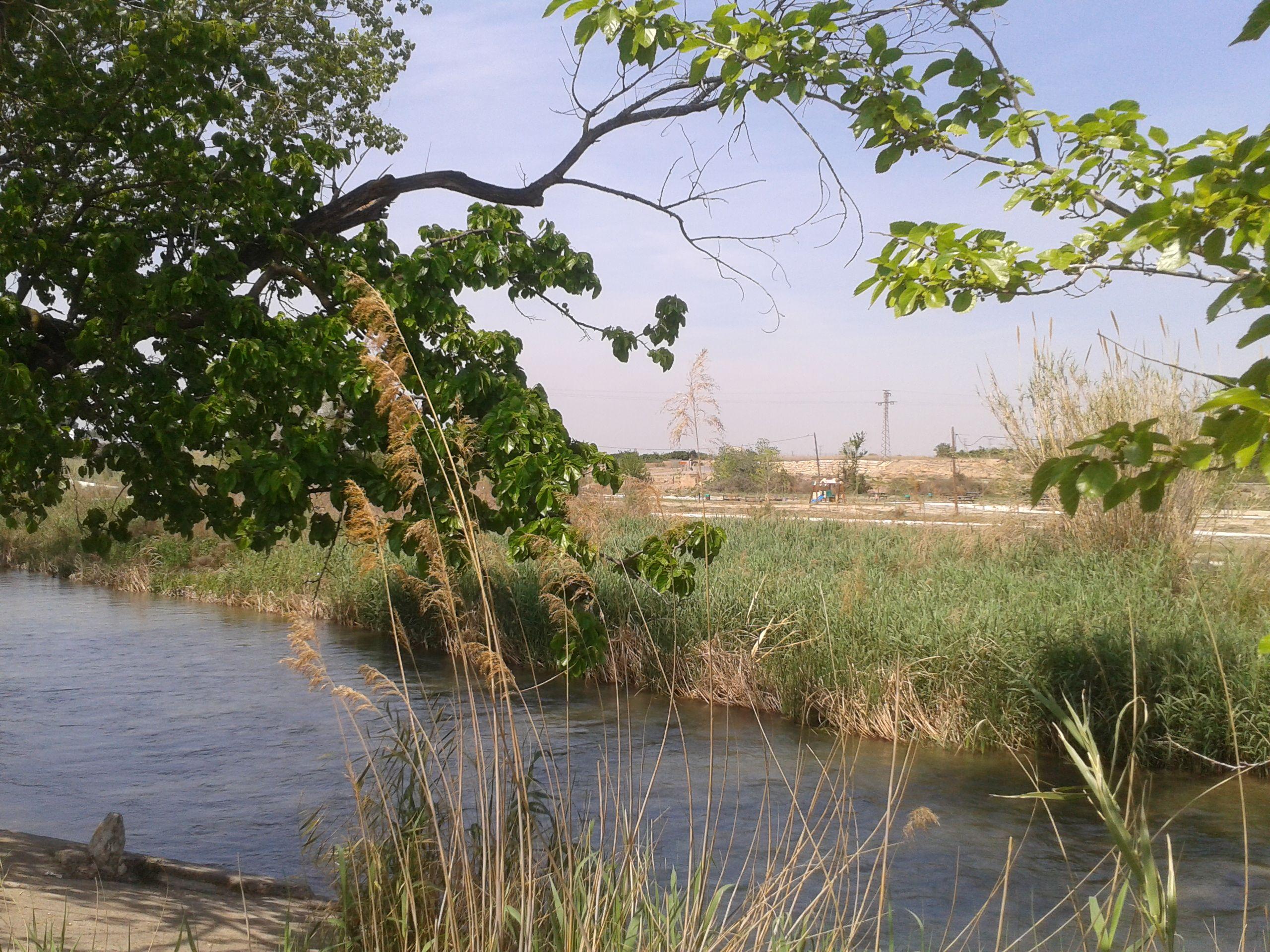 Un baño en el río para refrescarnos