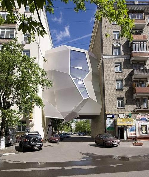 寄生虫办公室 / Za Bor Architects