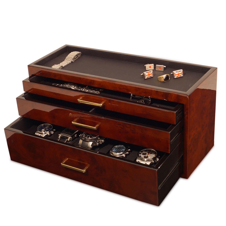 Men's Storage & Watch Box Watch box, Watch storage