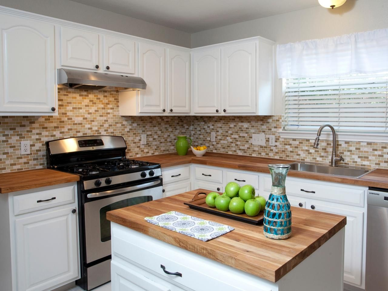Inspired examples of wood kitchen countertops drew scott hgtv and