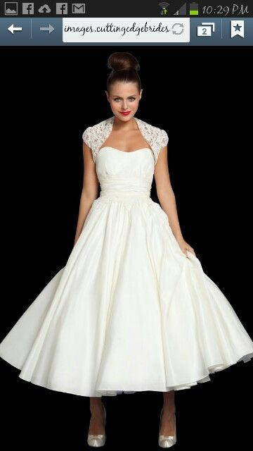 30 Classy Examples of Vintage wedding dresses – 50s style! | 50er ...