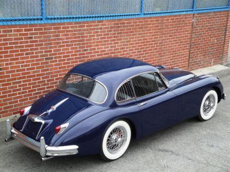1958 jaguar xk 150 fixed head coupe jaguar xk classic cars jaguar pinterest