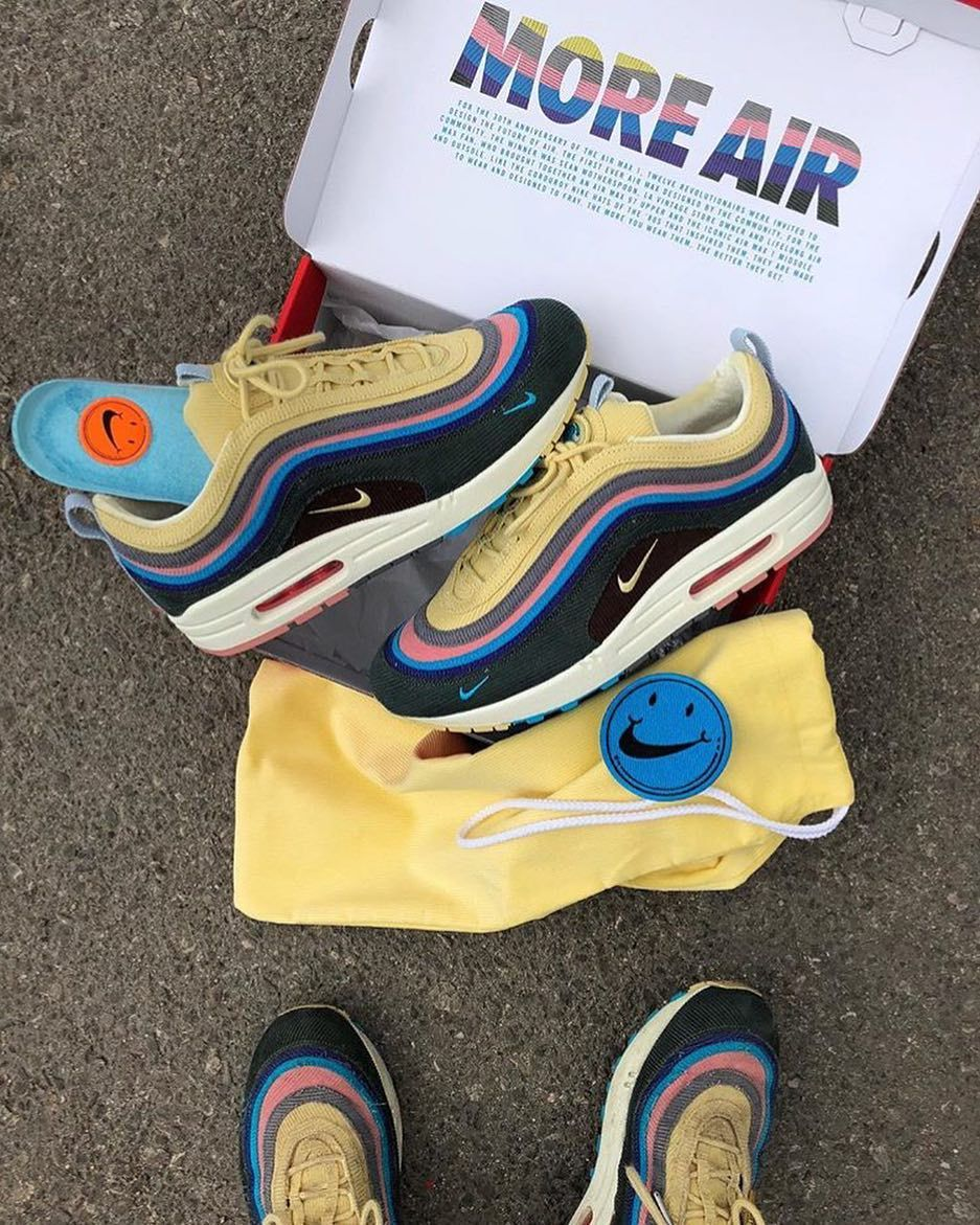 More Air The Packaging Of Sean Wotherspoon Air Max 97 1 Is Cool Will You Try To Grab A Pair On Next Years Air Sneakers Fashion Nike Air Max 97 Nike Air Max