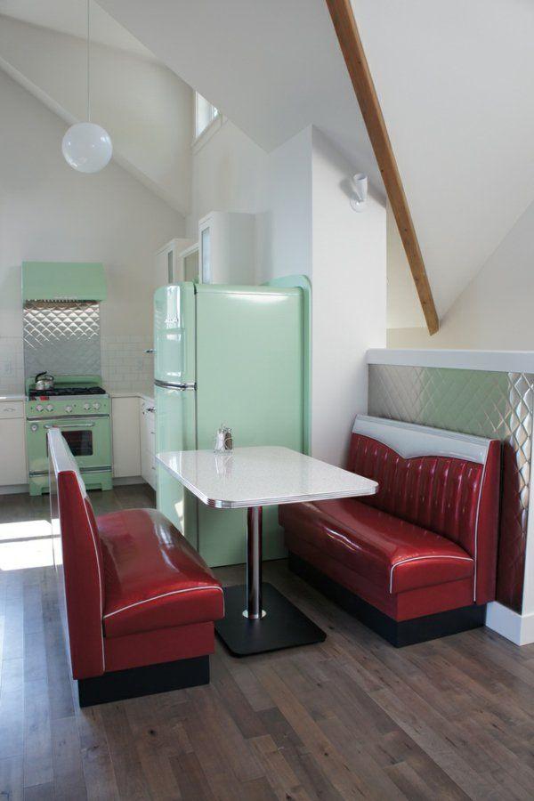 Retro Küchen Designs | Retro, Diners and Kitchens