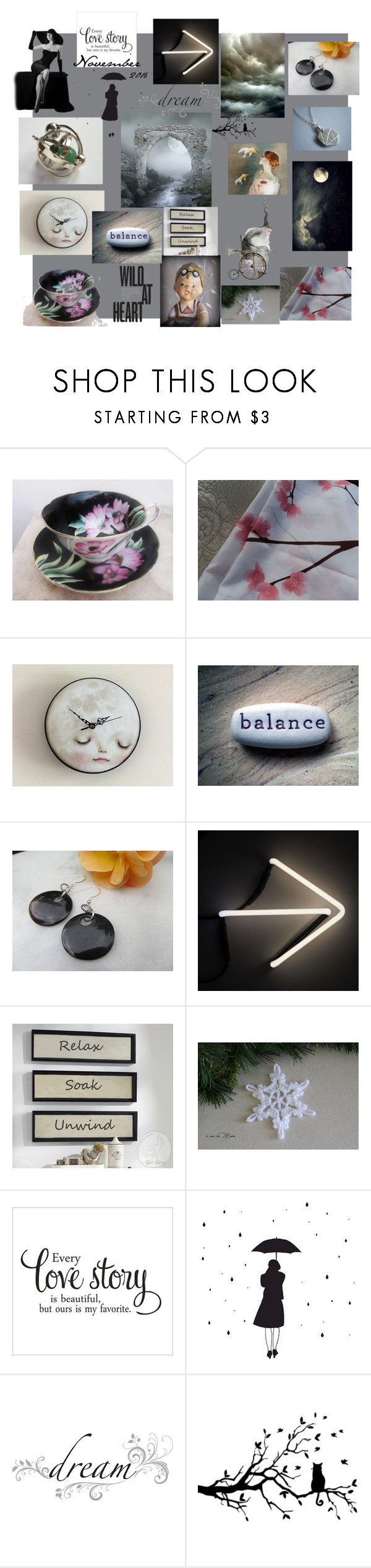 """""""Monday"""" by bizarrejewelry ❤ liked on Polyvore featuring WALL, Seletti, ADZif and jcp"""