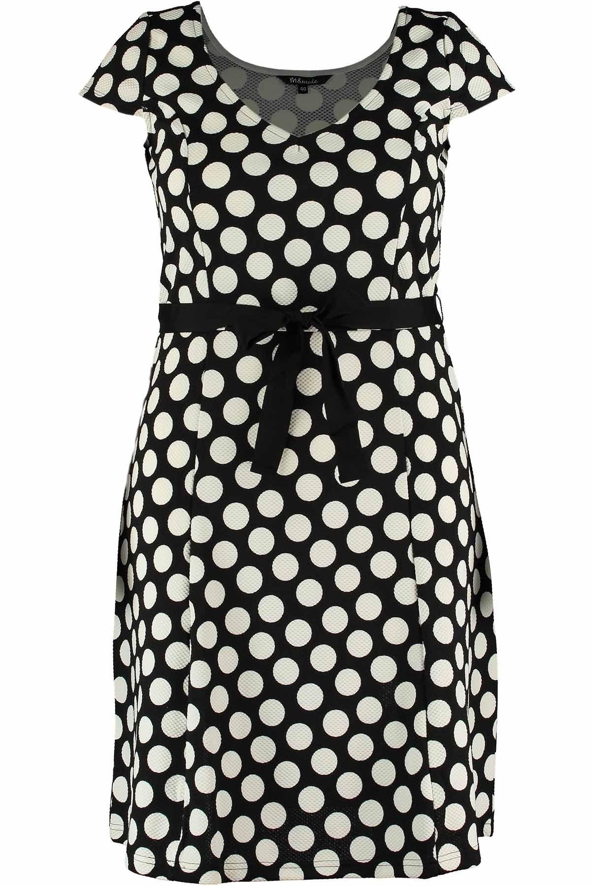 Kleid mit Muster | Online Shop MS MODE (mit Bildern ...