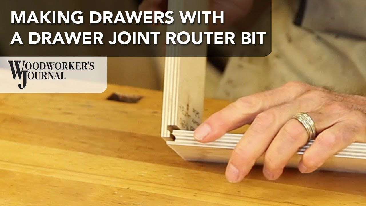 Make a Drawer Box Using a Drawer Joint Router Bit ...