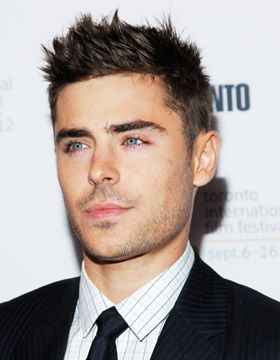 Men's Spiky Hairstyles Zac Efron Coiffure homme
