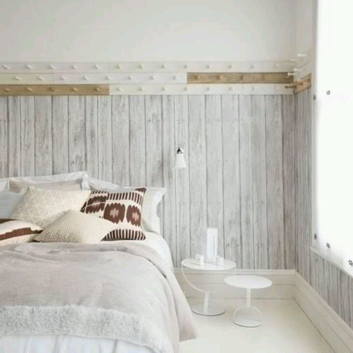 White Washed Bead Board Ceiling Or Board And Baton Walls