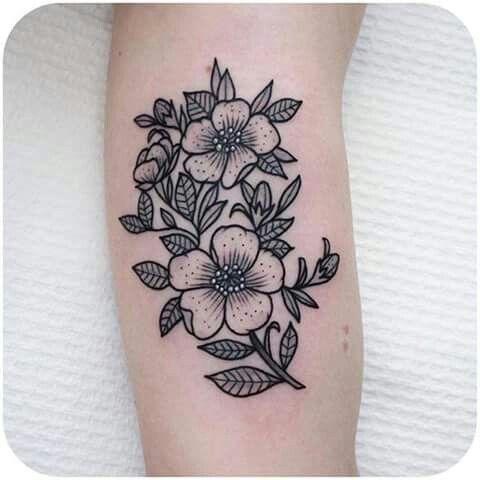 Floral Tattoo Tattoos Floral Pinterest Tattoos Flower