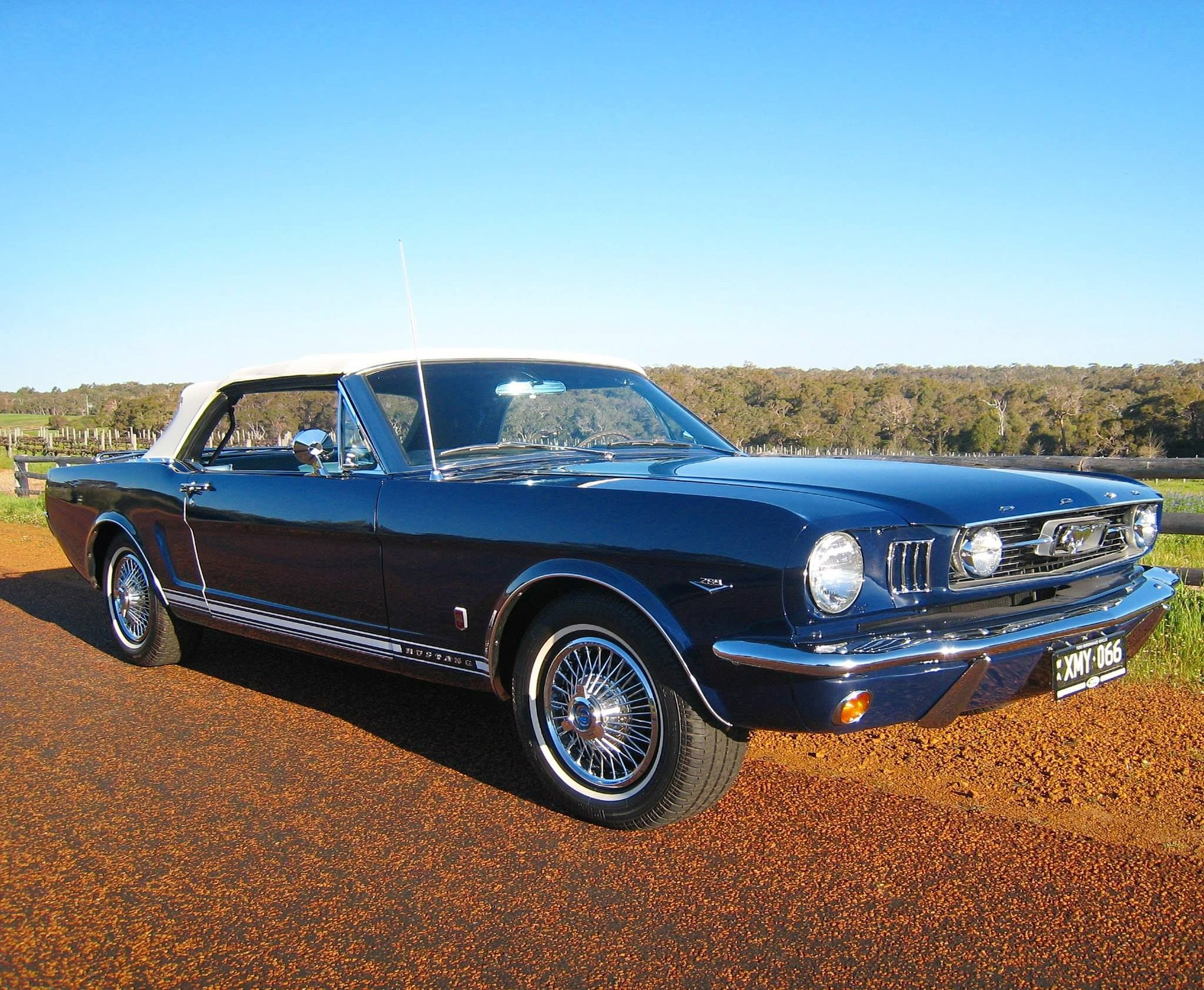 1966 mustang convertible gt nightmist blue