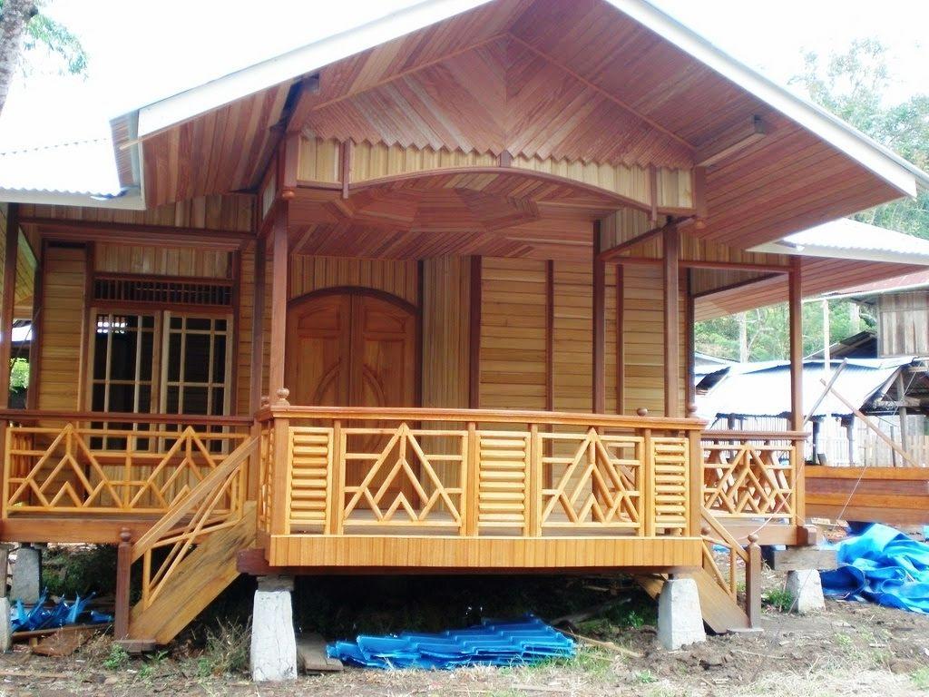 Desain Rumah Kayu Minimalis Sederhana Eksterior Rumah Rumah Kayu Desain Rumah