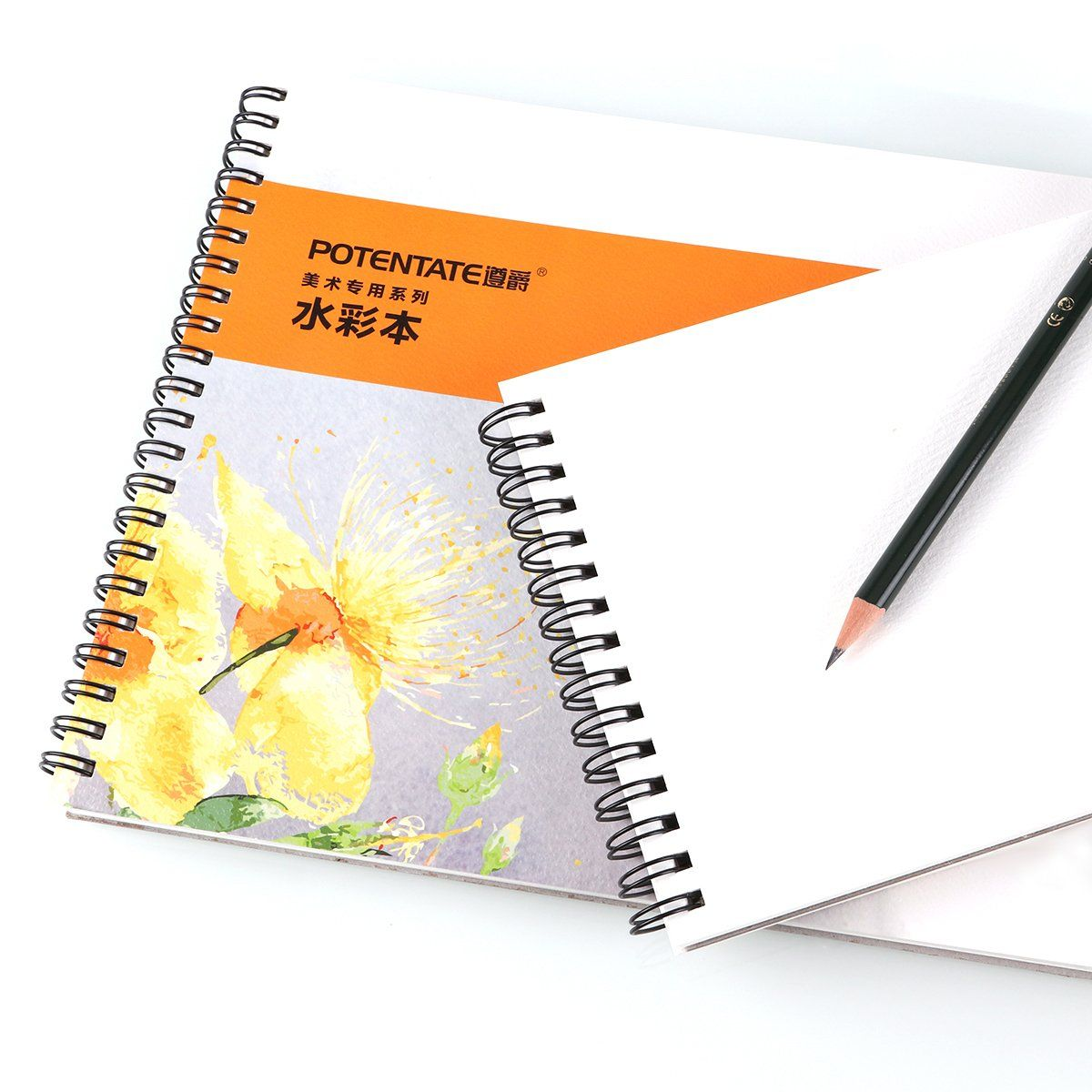 Spiral Bound Watercolor Paper Pad Artist Watercolor Pad For