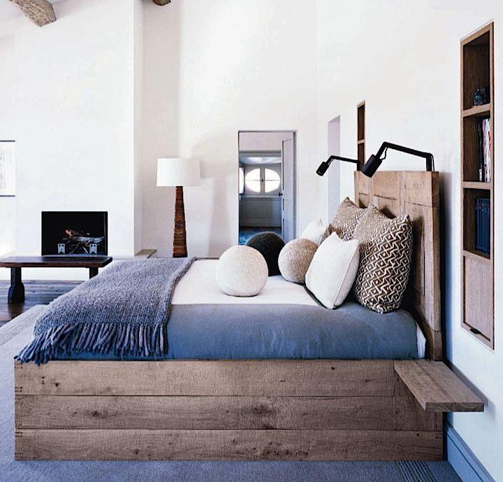 Bois des idées rustiques pour une maison chaleureuse