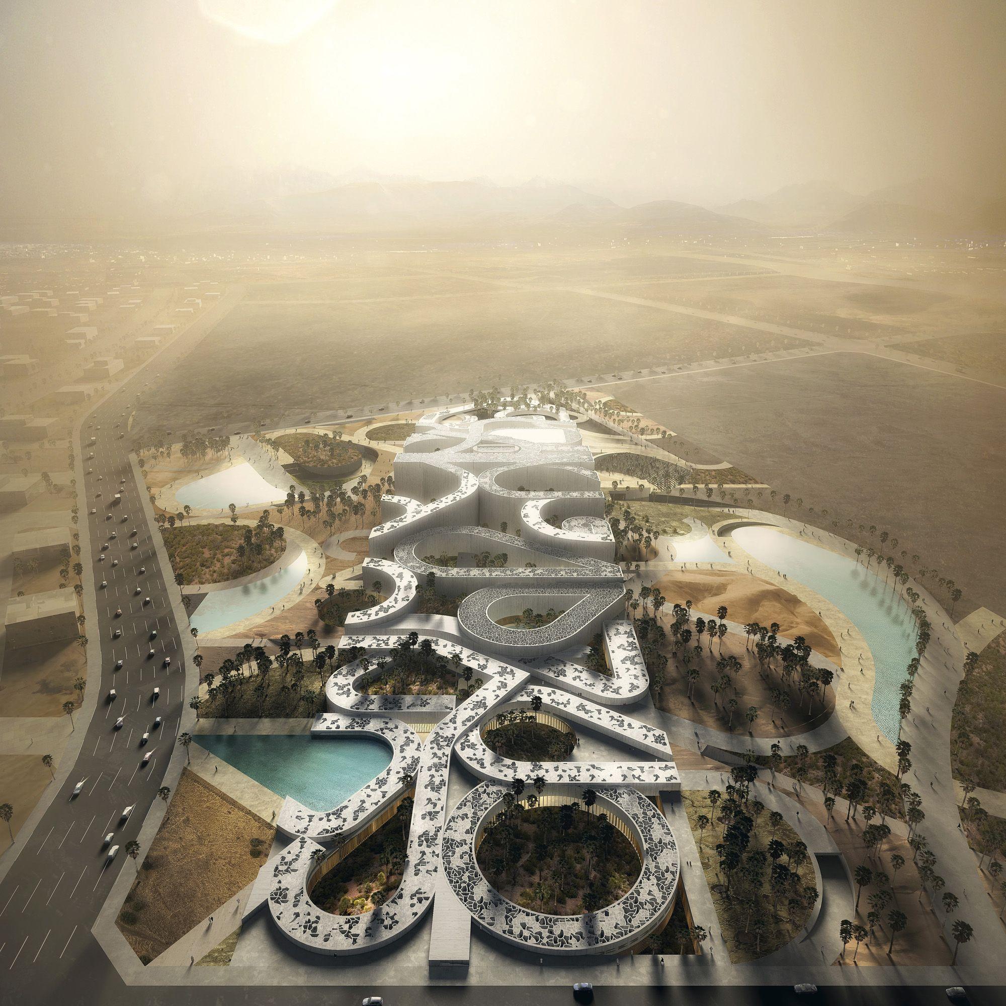 Noble Quran Oasis Habilitaciones Urbanas Arquitectura Contemporanea Urbano