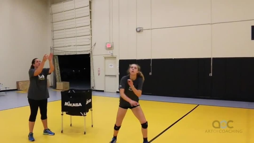 The Art Of Coaching Volleyball On Instagram Cary Wendell Wallin Explains Why Swinging Your Arms Too High In Front Of In 2020 Coaching Volleyball Coaching Volleyball
