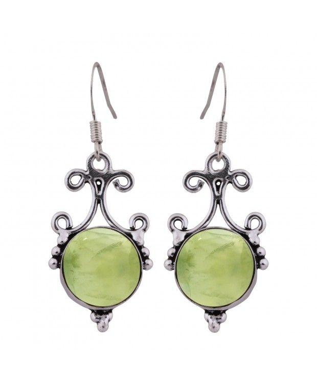 925 Sterling Silver Plated Lady Hoop Dangle Earring Link