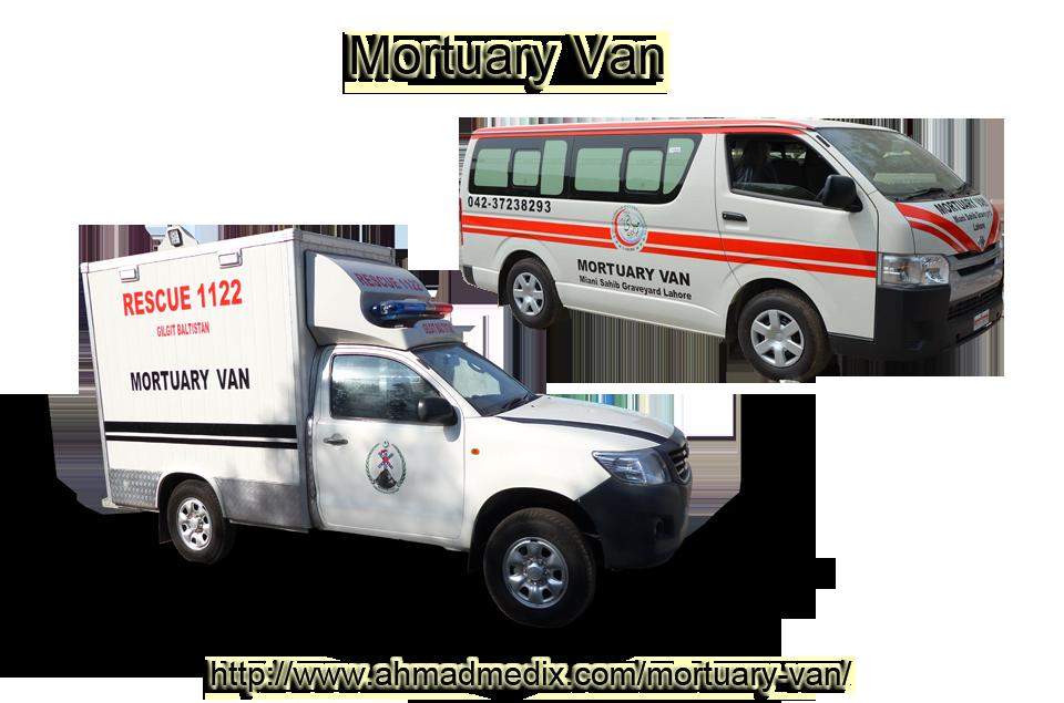 Best Customized Mortuary van manufactured by Ahmad Medix