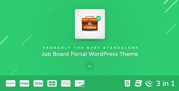 WPJobus v2012 u2013 Job Resumes WordPress Theme WordPress Themes - job resumes