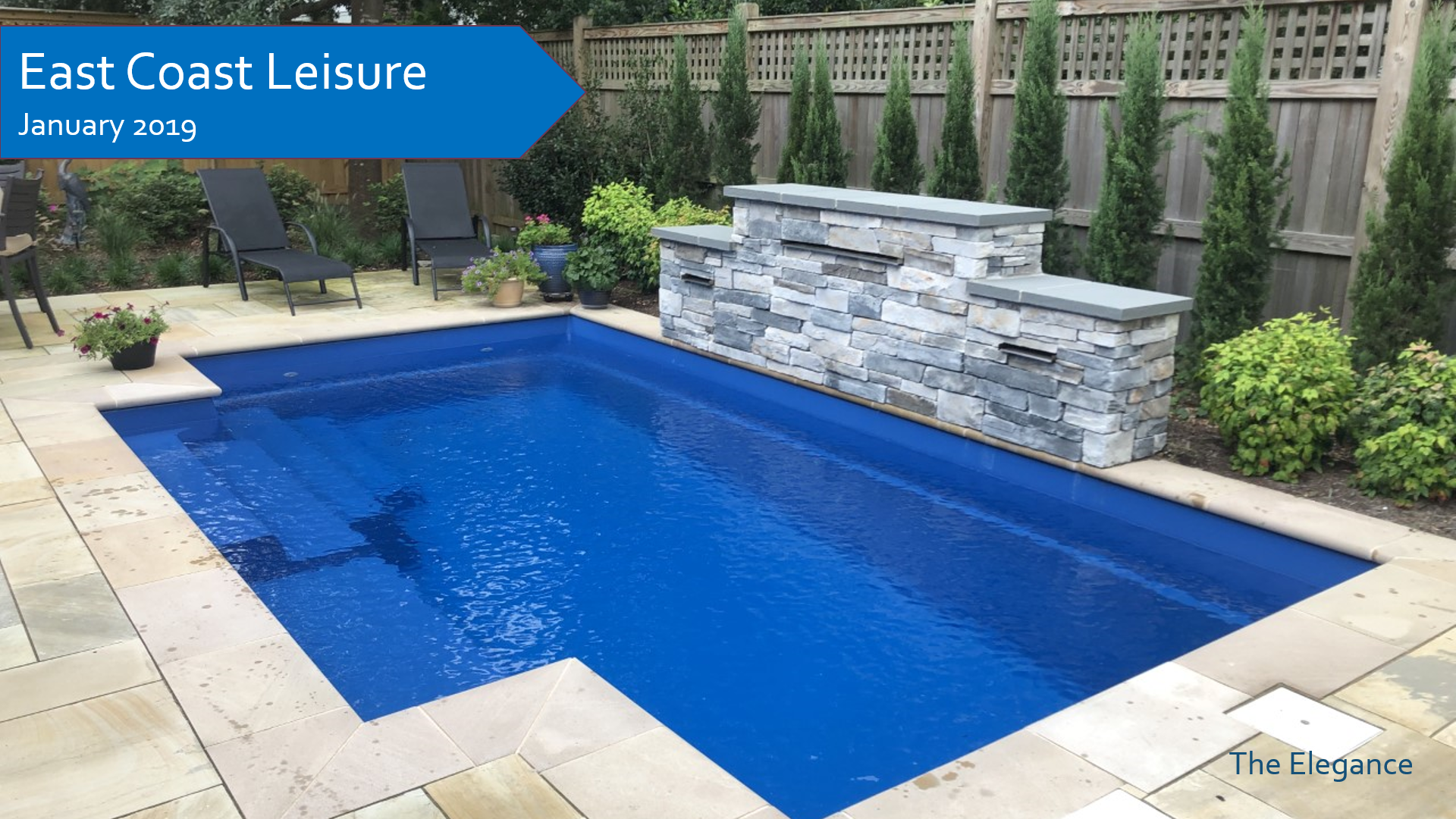 Year In Review The Leisure Pools Pool Of The Month For January 2019 The Elegance Installed By East Coast Leisure 855 85 Sp Leisure Pools Pool Spa Pool