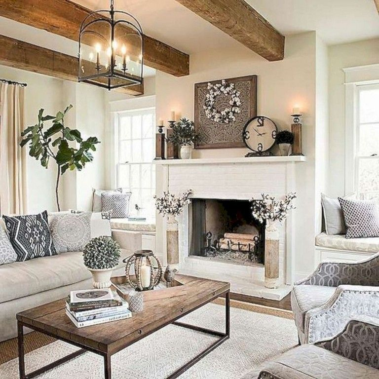 40+ Unbelievable French Country Living Room Design Ideas